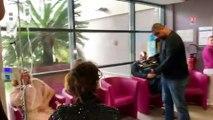 La nîmoise Chely Torito danse le flamenco pour les patients de l'Institut de Cancérologie.