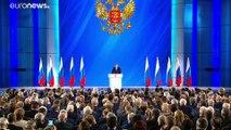 Le président russe Vladimir Poutine annonce une réforme de la Constitution