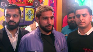 Boxer Amir Khan says he feels for Harry and Meghan