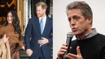 Hugh Grant supportive of Prince Harry's decision to step back from royal duties