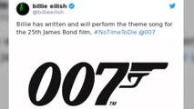 James Bond: Billie Eilish est toujours sous le choc d'avoir été choisie!