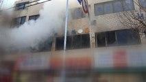 인천 상가 건물에서 불...1명 병원 이송 / YTN