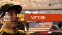 Dakar 2020 - Étape 10 - Portrait du jour - Casey Currie