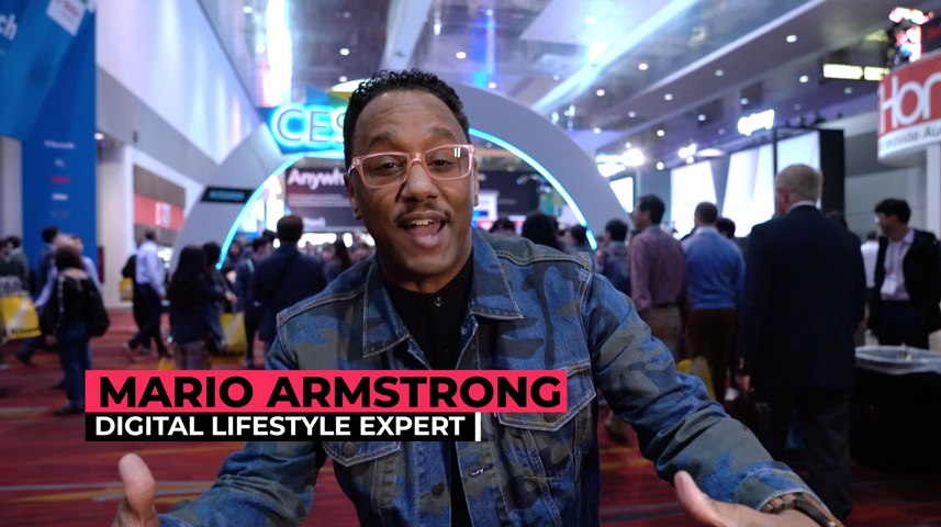 CES 2020 behind the scenes with Mario Armstrong