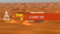 Dakar 2020 - Étape 10 - Dakar Explore - Le Quart Vide