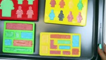 How to Make CHOCOLATE LEGO Pieces-