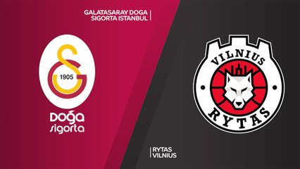 7Days EuroCup Highlights Top 16, Round 2: Galatasaray 73-89 Rytas