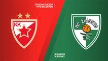 Crvena Zvezda mts Belgrade - Zalgiris Kaunas Highlights | Turkish Airlines EuroLeague, RS Round 19