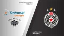 Dolomiti Energia Trento - Partizan NIS Belgrade Highlights | 7DAYS EuroCup, T16 Round 2