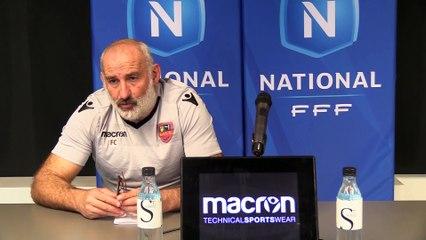Vidéo - le point presse du coach F. Ciccolini avant Gazélec Ajaccio / AS Béziers (J16)
