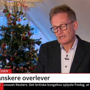 18 Nyhederne | Vært: Christian Høgh Andersen | 24 December 2019 | TV2 Danmark