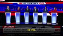 2020 Democratic Debate In Iowa Highlights: Sanders, Warren Sparring To Tom Steyer's Awkward Moment