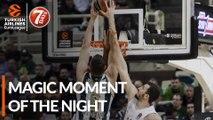 7DAYS Magic Moment of the Night: Nick Calathes & Georgios Papagiannis, Panathinaikos OPAP Athens