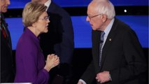 "Bernie Sanders Says ""Weather"" Was All He And Warren Discussed After Debate"