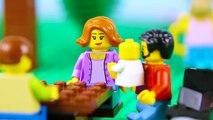 LEGO City Hot Dog STOP MOTION LEGO Hot Dog Stall Brick Building - LEGO City - By Billy Bricks