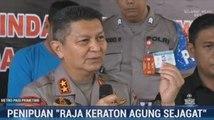 Polisi Gelar Barang Bukti Penipuan Raja dan Ratu Keraton Agung Sejagat