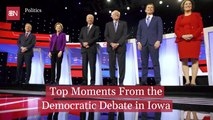 A Look Back At The Iowa Debate