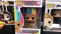 The Rainbow Trolls Funko Pop With Hair Vinyl Figure