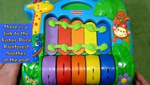 Fisher Price Rainforest Rainbow Piano Xylophone Baby Toy