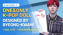 [Pops in Seoul] Here's the only K-pop doll designed by 'Byeong-kwan(김병관, A.C.E)' !