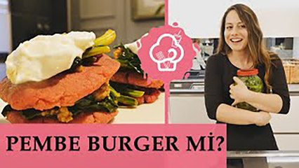 Yıldız Öz Samaha'dan Pembe Burger ve Turşu Tarifi | Yediğim İçtiğim Sizin Olsun