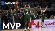 7DAYS EuroCup Top 16 Round 2 MVP: Deon Thompson, Unicaja Malaga