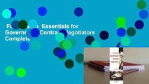 Full Version  Essentials for Government Contract Negotiators Complete