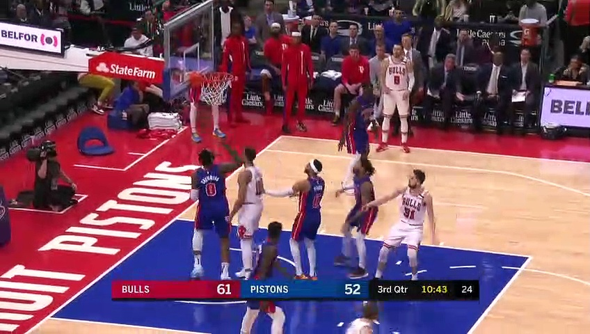Chicago Bulls 108 - 99 Detroit Pistons