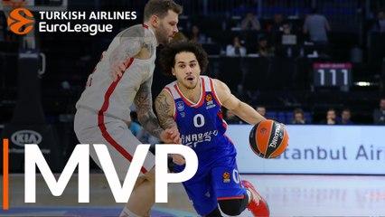 Round 19 MVP: Shane Larkin, Anadolu Efes Istanbul