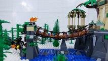 LEGO Ninjago STOP MOTION LEGO Deli Robbery Lloyd and Samurai X vs S.O.G - LEGO Ninjago - Billy Bricks
