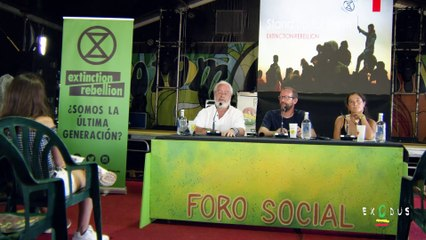 Stand up for Earth | Greenpeace y Extinction Rebellion estrenan el Foro Social del Rototom 2019