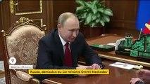 Russie : démission surprise du Premier ministre Dmitri Medvedev
