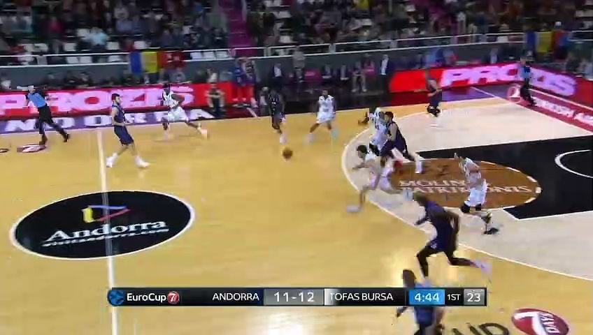 MoraBanc Andorra 63 - 69 Tofaş | Maç Özeti - EuroCup Top 16 - 1. Hafta