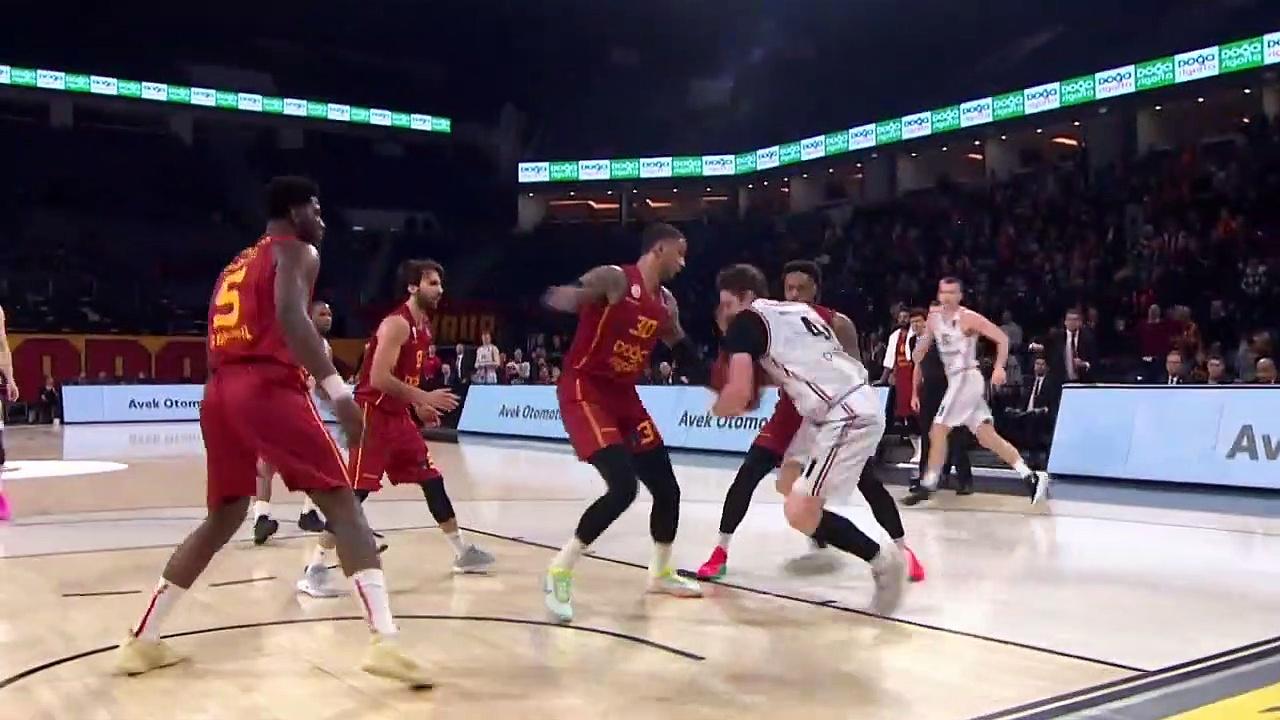Galatasaray Doğa Sigorta 73 - 89 Rytas Vilnius | Maç Özeti - EuroCup Top 16 - 2. Hafta