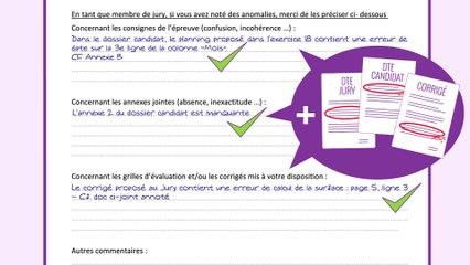 Comment signaler une anomalie relevée sur un dossier technique d'évaluation (DTE) ?