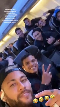 La blague de gamin de Neymar aux joueurs du PSG