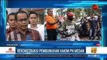 Tersangka Peragakan 53 Adegan Rekonstruksi Pembunuhan Hakim PN Medan