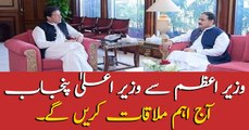 CM Punjab to meet PM Khan today