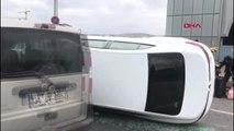 Galata köprüsünde trafik kazası -1