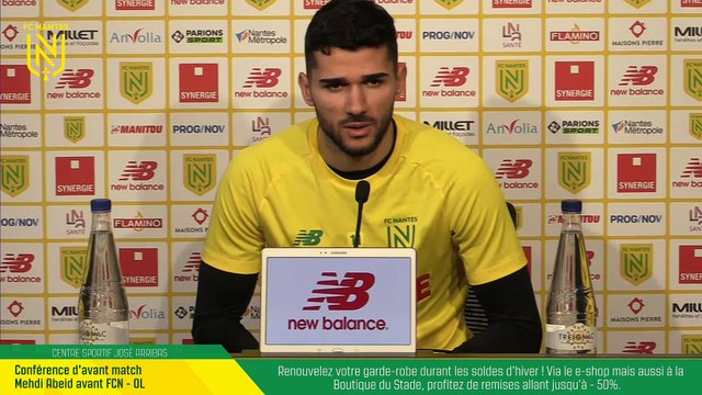 Replay : Mehdi Abeid avant FC Nantes - OL