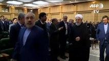 """Presidente iraní defiende un diálogo difícil pero """"posible"""" con la comunidad internacional"""