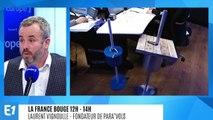 La France bouge : Laurent Vignoulle, fondateur de Para'Vols, nouveau concept breveté de parasol made in France qui est protégé contre le vols et l'empêche de s'envoler