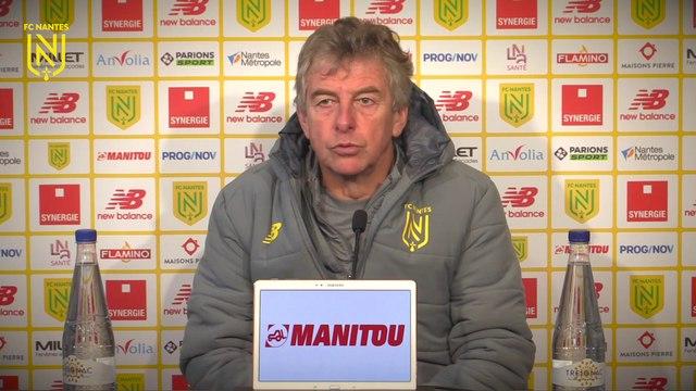 Christian Gourcuff avant FC Nantes - Olympique Lyonnais