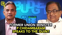 'Too Late to Remedy Economy Now': Chidambaram Ahead of Budget 2020