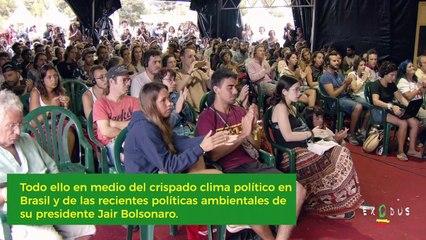 Sonia Guajajara cuenta la lucha de los pueblos indígenas de Brasil | Foro Social Rototom 2019