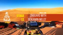 Dakar 2020 - Étape 11 / Stage 11 - Onboard with Benjamin Melot