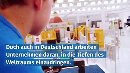 Deutsche Unternehmen arbeiten an Raketen und Satelliten.