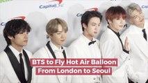 BTS Has New Travel Plans