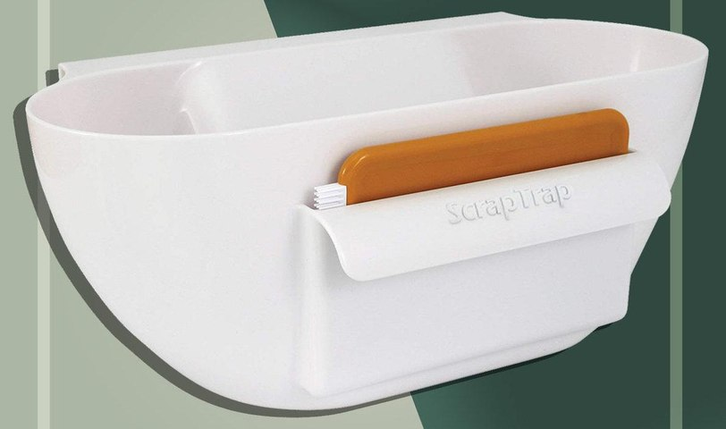 This $18 Kitchen Scrap Holder Will Save You Tons of Cleanup Time