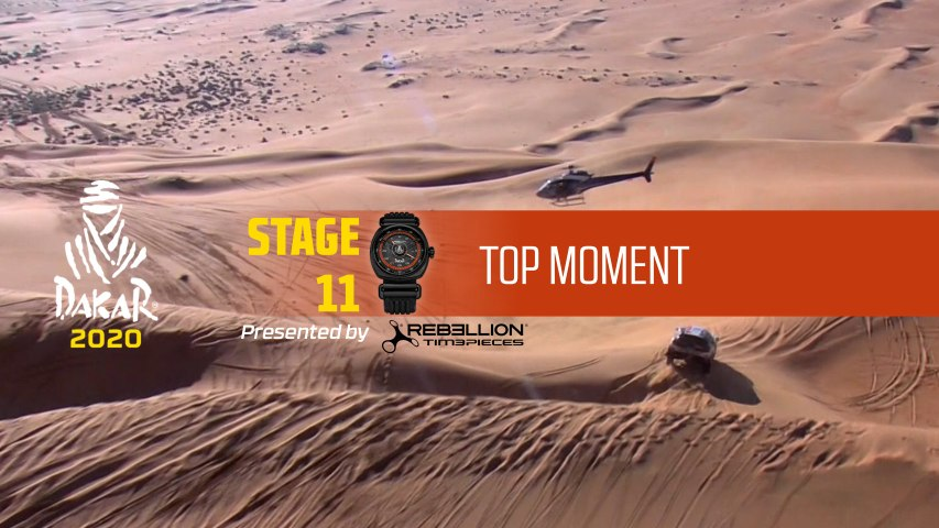 Dakar 2020 - Étape 11 / Stage 11 - Top Moment by Rebellion